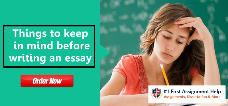 Things to keep in mind before writing an essay
