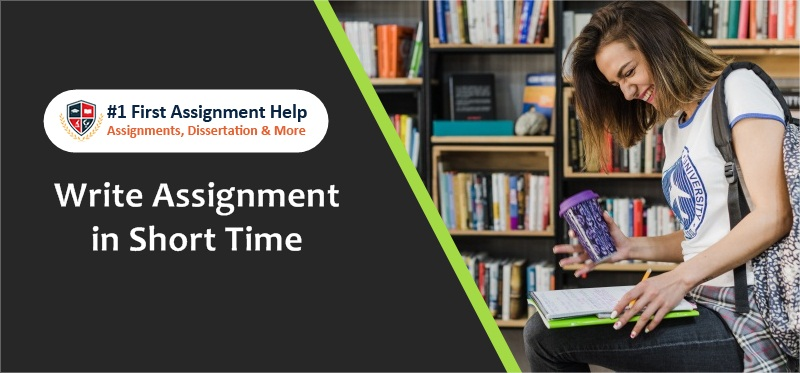 How to Write Assignment in Short Time